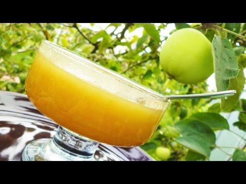 Яблочный мед. Вкуснейший джем из яблок быстрого приготовления
