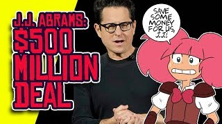 J.J. ABRAMS' $500 Million Deal Could Hurt CRUNCHYROLL And ROOSTER TEETH?!