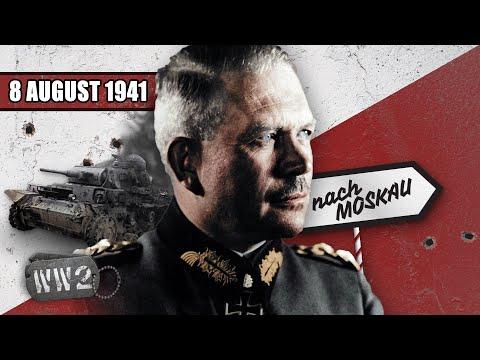 Německému postupu dochází dech - Druhá světová válka