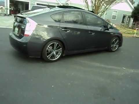 toyota prius lowered with FRS wheels