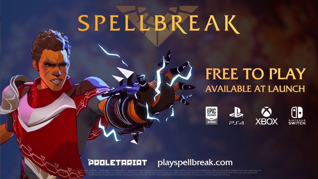Spellbreak e' il nuovo Battle Royale Free-to-Play in arrivo a fine anno