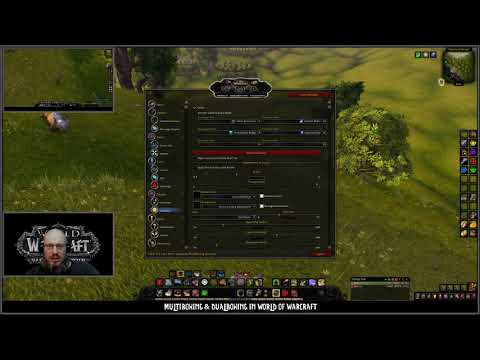 WoW - Battle For Azeroth Dual-boxing Tutorial with Hotkeynet