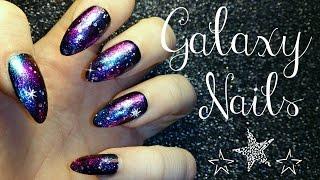 Easy Galaxy Nail Tutorial
