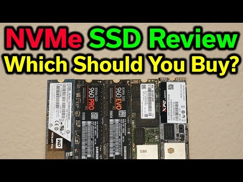 NVMe SSD Review – Which Should You Buy? – 2017 Edition