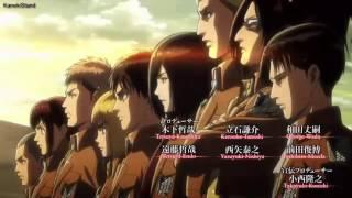 ShingekinoKyojinSeason2「進撃の巨人Season2」OPOpeningFulliExtended
