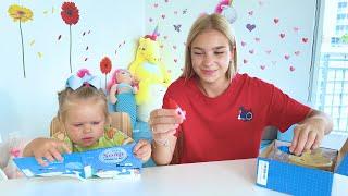 Maggie and her best friend argue about puppy