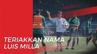 Saat Kontra Korea Utara, Suporter Timnas Indonesia Teriakkan Nama Luis Milla di SUGBK