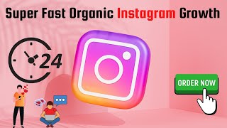 I will do super fast organic Instagram growth