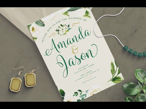 mp4 Design Wedding Invitation, download Design Wedding Invitation video klip Design Wedding Invitation