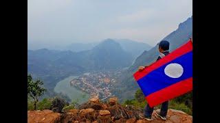 ตะลุยลาวเหนือ EP70:ผาแดง สุดยอดวิวพันล้านเมืองลาว ที่เมืองงอย(หนองเขียว) แขวงหลวงพระบาง