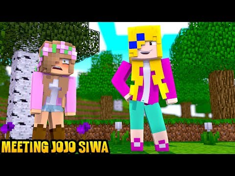 LITTLE KELLY MEETS JOJO SIWA | Minecraft Little Kelly