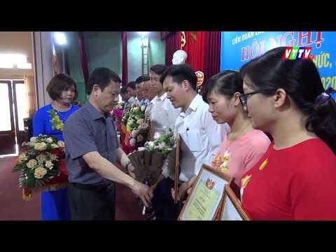 LĐLĐ huyện Vũ Thư tuyên dương, khen thưởng 65 tập thể, cá nhân có thành tích xuất sắc trong phong trào thi đua