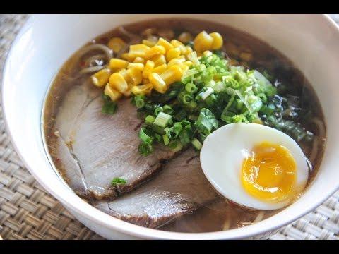 Miso Ramen Recipe – Japanese Cooking 101