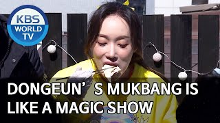 Dongeun's Mukbang is like a magic show [Boss in the Mirror/ENG, IND, CHN/2020.04.30]