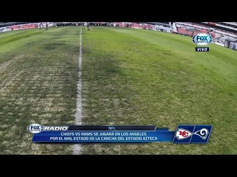 NFL en México ¡Cancelado! Por el césped del Estadio Azteca f09d0d5bbfd