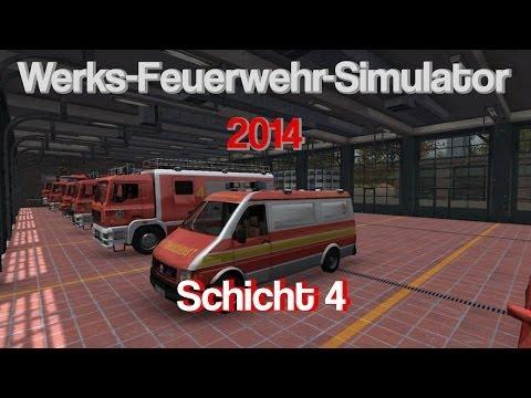 Werk-Feuerwehr-Simulator 2014 | Florian 4 | Schicht 4 | Eine entspannte Schicht