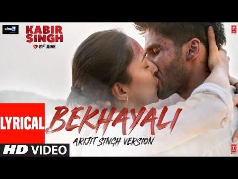Actor Shahid Kapoor Kabir Singh Movie Bekhayali Video Song