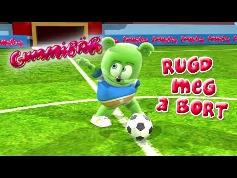Gummibär RUGD MEG A BÖRT - (FUTIBALL) World Cup Soccer/Football Song Hungarian Gummy Bear Gumimaci letöltés