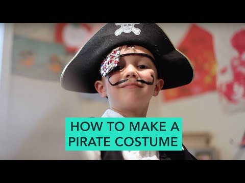 How to Make a Pirate Costume - Easy DIY Halloween | Care.com