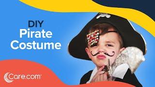 How To Make A Pirate Costume - Easy DIY Halloween | Care.com