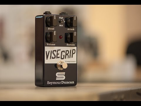 SEYMOUR DUNCAN The Vise Grip Guitar Compressor Kytarový efekt