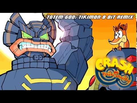 Crash Twinsanity: The Evil Twins' Deathbot 8 Bit Remix - смотреть