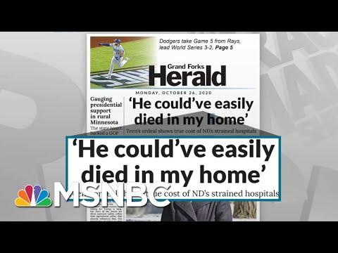 Hospitals Bear Brunt Of Trump Admin Surrender To Coronavirus | Rachel Maddow | MSNBC