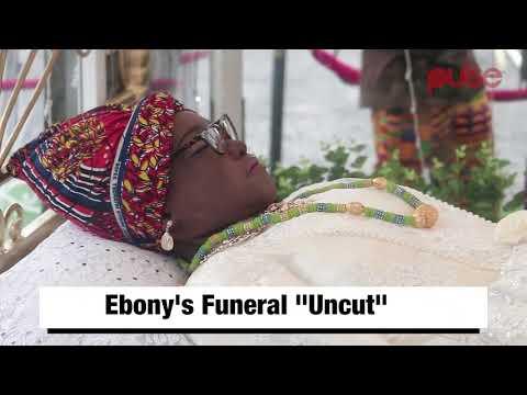 #RIPEBONY  Ebony Funeral