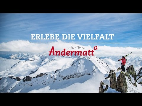 Erlebe den Winter - Ferienregion Andermatt