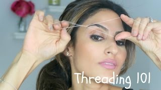 MAMI's Minute- How To Thread At Home