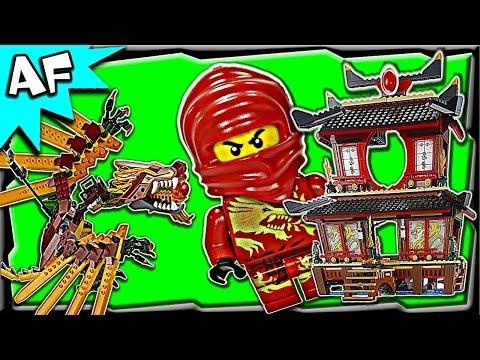 Vidéo LEGO Ninjago 2507 : Le temple de feu