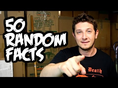 50 Random Facts About Rob