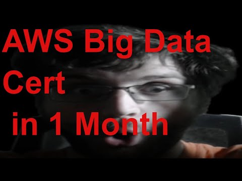 How to get the AWS Big Data (Data Analytics) Certification in ONE ...