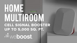 Home MultiRoom – Cell Signal Booster for Up to 5,000 sq. ft.   weBoost