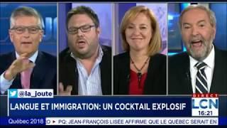 Mathieu Bock-Côté - Identité, langue française et immigration - Campagne électorale Québec 2018