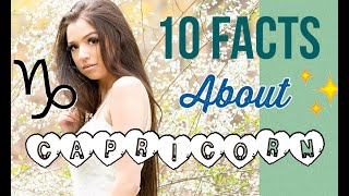 10 FACTS ABOUT CAPRICORN ♑️✨ (characteristics And Traits)