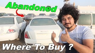Can We Buy Abandoned Cars In Dubai !?!