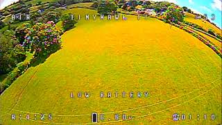 FPV acro mode slow and steady