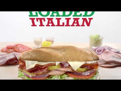 Arby's Commercial for Arby's Loaded Italian (2015 - 2016) (Television Commercial)