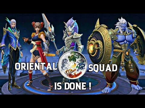 MOBILE LEGENDS ORIENTAL HEROES • ALL MEMBERS OF MOBILE LEGENDS ORIENTAL SQUAD