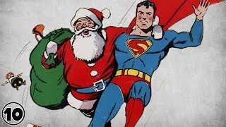 Top 10 Superheroes Who Probably Believe In Santa Claus