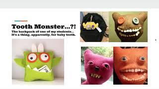 Felt Monster Slides