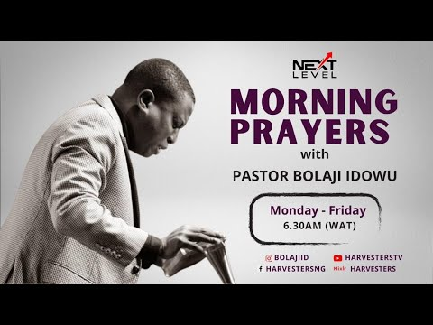 Next Level Prayer with Pastor Bolaji Idowu 18th March 2021