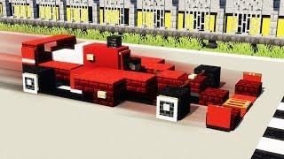 Ferrari Formula 1 Racing Car   Minecraft Vehicle Tutorial