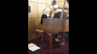 Donna playing Oh Holy Night, 12/15/13