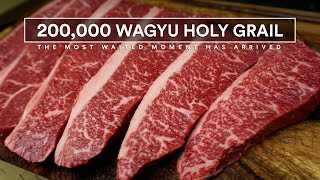 200,000 Unboxing Wagyu Holy Grail - Steak Unboxing Special