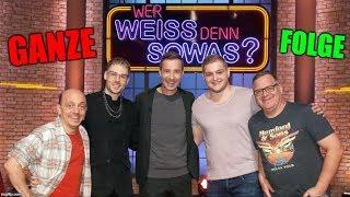 """Trymacs & Rewinside Im FERNSEHEN Bei """"Wer Weiß Denn Sowas?"""" (GANZE FOLGE) Rewi & Trymacs Auf ARD! 😂"""