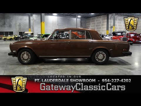 Video of '77 Silver Shadow II - L7NE