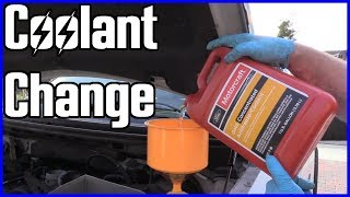 Coolant Drain and Refill Ford F-150 5.4L