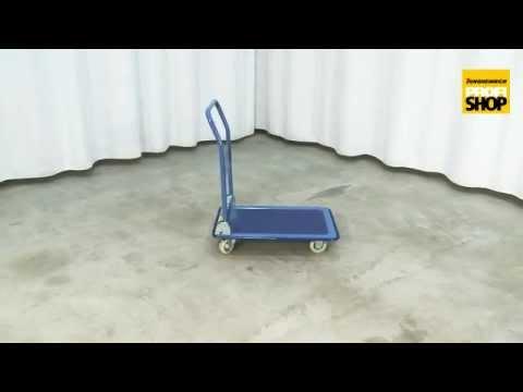 Plattformwagen Economic mit Stahlblechfläche. Tragkraft 150250kg